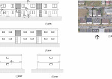 Renovation of existing building elevations