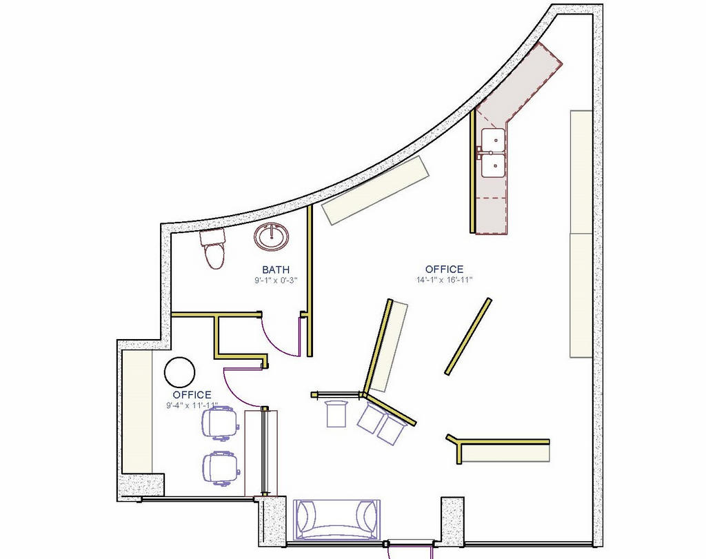 Dental office vancouver bc for Orthodontic office design floor plan