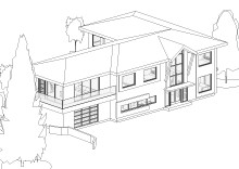 HOUSE IN BURNABY – DESIGN OPTIONS