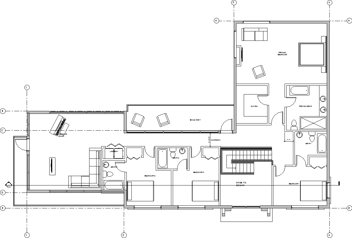House in burnaby design options for Foundation plan of a 2 storey house